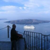 Santorini – miasto miłości skąpane we mgle